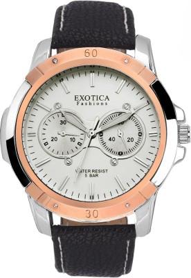Exotica Fashions EFG-05-TT-DM-W-NS New Series Analog Watch  - For Men