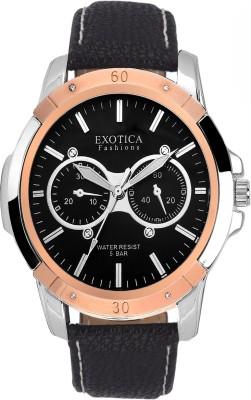 Exotica Fashions EFG-05-TT-DM-B-NS New Series Analog Watch  - For Men