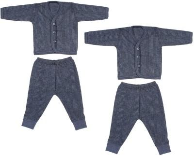 Shishu Top - Pyjama Set For Boys & Girls(Blue, Pack of 1)