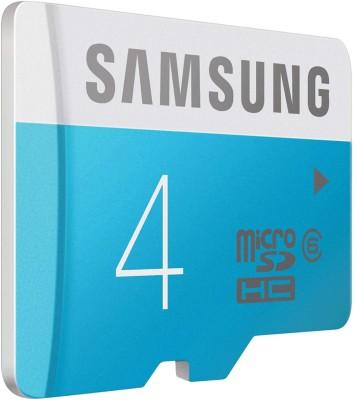Samsung Ultra 4 GB MicroSDHC Class 4 24 MB/s Memory Card