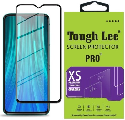 Tough Lee Edge To Edge Tempered Glass for Mi Redmi Note 8 Pro(Pack of 1)