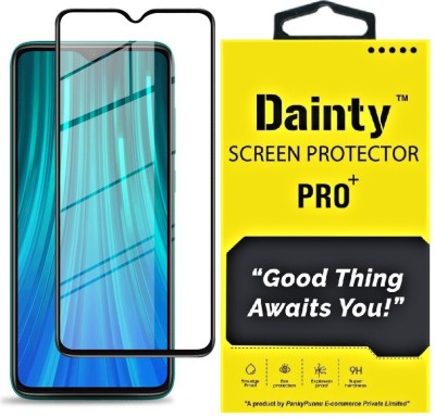 Dainty Edge To Edge Tempered Glass for Mi Redmi Note 8 Pro(Pack of 1)