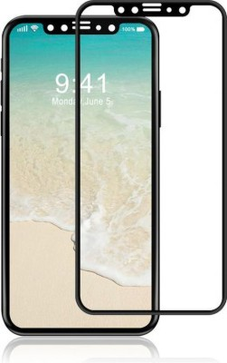 Bongga Tempered Glass Guard for Apple iPhone X(Pack of 1)