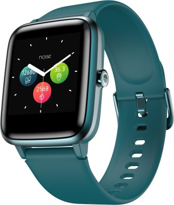Noise ColorFit Pro 2 Teal Green Smartwatch(Blue Strap Regular)