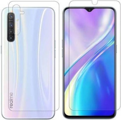 FIRST IMPRESSION Front and Back Tempered Glass for Realme XT(Pack of 2)