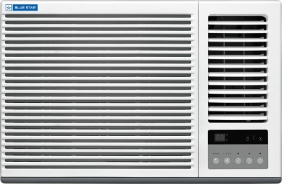 Blue Star 1.5 Ton 5 Star Window Inverter AC - White(5W18GBTI, Copper Condenser)