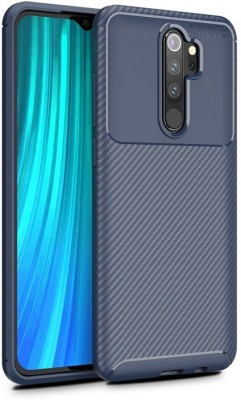 Cover Alive Back Cover for Mi Redmi Note 8 Pro(Blue, Grip Case)