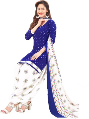 Sharvi Synthetic Printed Salwar Suit Material(Unstitched)
