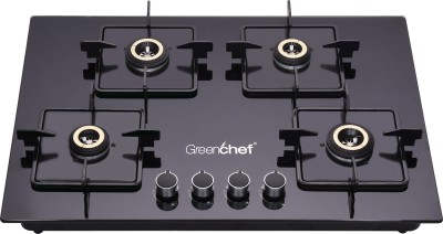 Greenchef Kelvin Glass Automatic Hob(4 Burners)