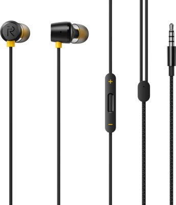 realme Buds 2 Wired Headset(Black, In the Ear)
