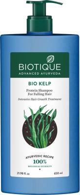 BIOTIQUE Bio Kelp Protein Shampoo For Falling Hair 650 ml(650 ml)
