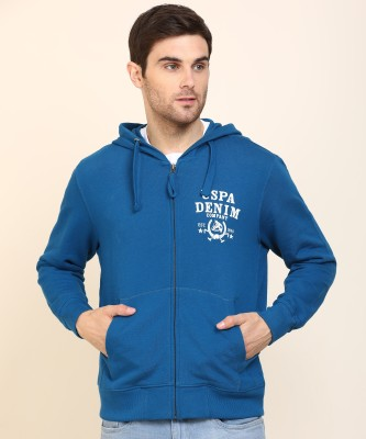 U.s.Polo Association Full Sleeve Printed Men Sweatshirt