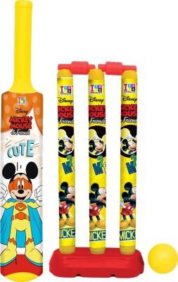 DISNEY Mickey   Friends Bat, Ball   Stumps My First Cricket Kit DISNEY Toy Sport