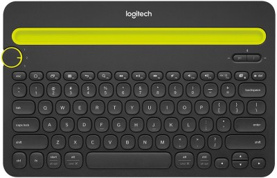 Logitech K480 Multi Device Bluetooth Keyboard Black Wireless Multi device Keyboard
