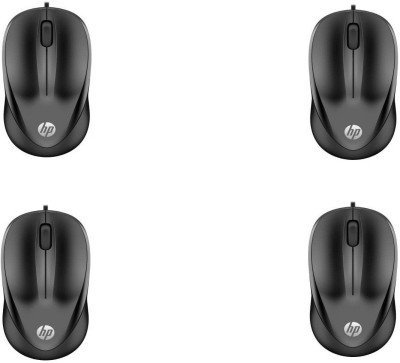 HP 1000 Wired Optical Mouse  pack of 4  Wired Optical Mouse