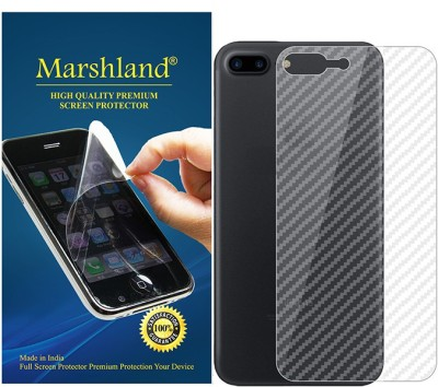 Marshland Back Screen Guard for Apple iPhone 7 Plus Carbon(Pack of 1)