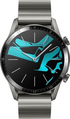 Huawei Watch GT 2 (46 mm) Smartwatch(Grey Strap, Regular)