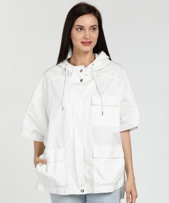 Forever 21 Half Sleeve Solid Women Jacket