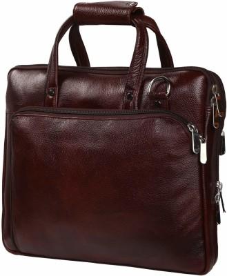 Earner Enterprises 15.6 inch Inch Expandable Laptop Messenger Bag Brown
