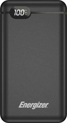 Energizer 20000 mAh Power Bank  10 W, Fast Charging  Black, Lithium Polymer Energizer Power Banks
