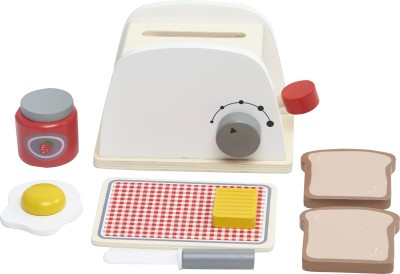 Wufiy Pop-Up Wooden Toaster Set