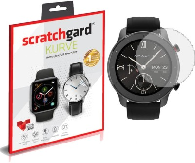 Scratchgard Nano Glass for Huami Amazfit GTR ****, Flexible Film(Pack of 1)