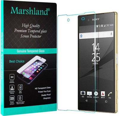 Marshland Tempered Glass Guard for Sony Xperia Z5 Dual Pack of 1 Marshland Screen Guards