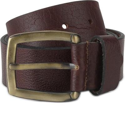 Spykar Men Casual Brown Genuine Leather Belt