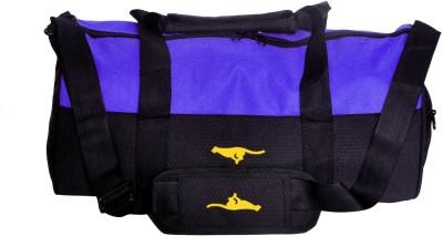 Gene GymBags MG 1015 BLU BLK Travel Duffel Bag Blue Gene Duffel Bags