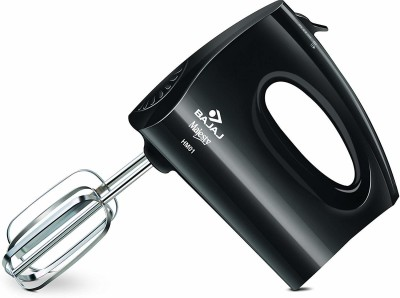 Bajaj HM 01 250-Watt Hand Mixer (Black) 250 W Electric Whisk(Multicolor)