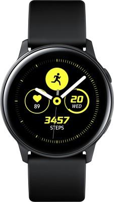 Samsung Galaxy Watch Active Smartwatch(Black Strap Regular)
