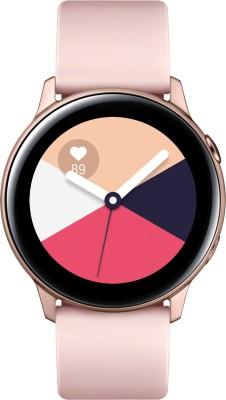 Samsung Galaxy Watch Active Smartwatch(Beige Strap Regular)
