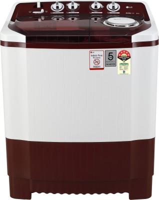 LG 8 kg 5 Star Rating Semi Automatic Top Load Red(P8035SRMZ)