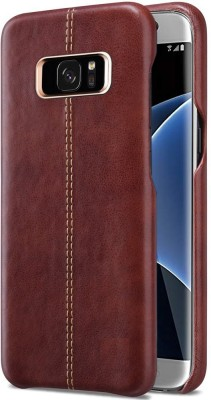 TGK Back Cover for Samsung Galaxy S7 Edge(Brown, Shock Proof)