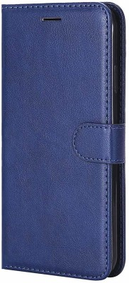 FashionPro Flip Cover for Honor 7C(Navy Blue)
