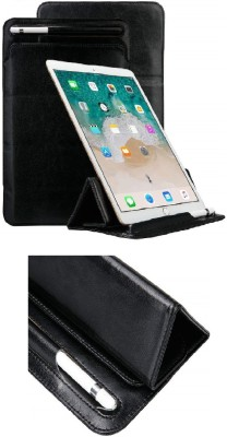 Realtech Sleeve for Samsung Galaxy Tab 4 10.1 2014 (SM-T530/T531/T535)(Black, Cases with Holder)