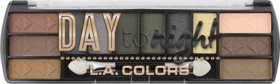 L.A. COLORS Day to Night 12 Color Eyeshadow - Sunrise 8 g (Sunrise)