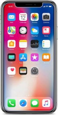 SEA SHELL Tempered Glass Guard for Apple iPhone X(Pack of 1)