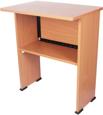 Ebee Engineered Wood Computer Desk(Modular, Finish Color - Beoge)