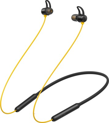Realme *** Wireless Bluetooth Headset with Mic(Yellow, In the Ear)