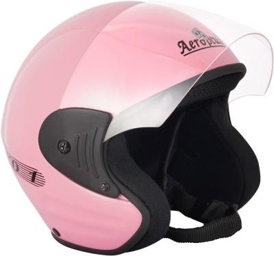 AEROPLUS D 1 Motorbike Helmet(Pink)