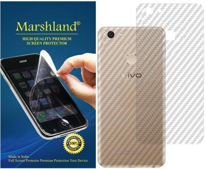 Marshland Back Screen Guard for VIVO V7 Plus carbon(Pack of 1)