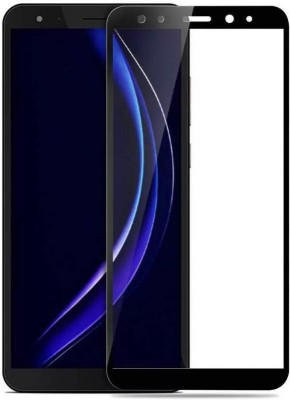 Ultimate Edge To Edge Tempered Glass for Asus ZenFone Max M1 11D Original, Made with peftect edge to edge curve finish for smooth touch experience(Pack of 1)