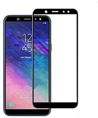 MSANSS Edge To Edge Tempered Glass for Samsung Galaxy A6 Plus(Pack of 1)