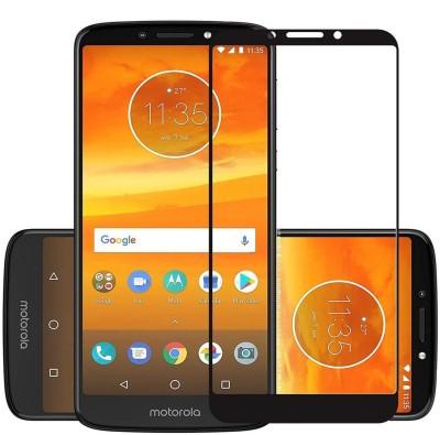 Power Edge To Edge Tempered Glass for Motorola Moto E5 Plus(Pack of 1)