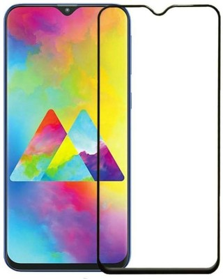 MSANSS Edge To Edge Tempered Glass for Samsung Galaxy M20(Pack of 1)