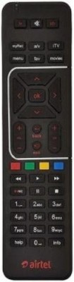 Divine's Digital TV DTH Remote Compatible with SD and HD Recording Airtel Remote Controller