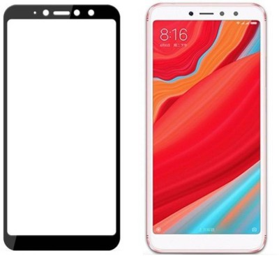 Mobizworld Edge To Edge Tempered Glass for Mi Redmi Y2(Pack of 1)