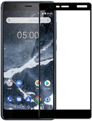 Ultimate Edge To Edge Tempered Glass for Nokia 3.1(Pack of 1)