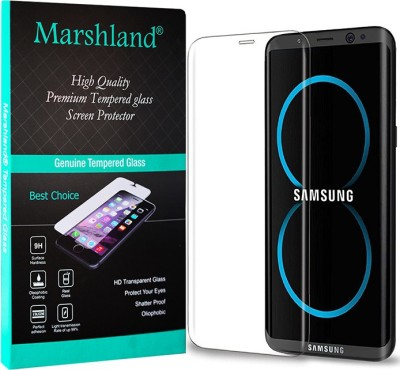 Marshland Edge To Edge Tempered Glass for Samsung Galaxy S8 Pack of 1 Marshland Screen Guards